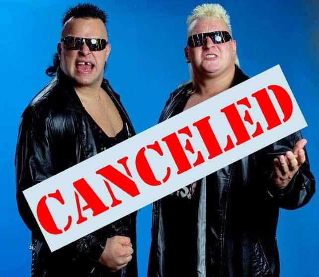 Nasty Boys Canceled