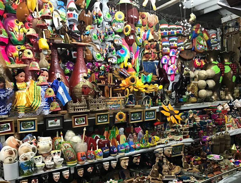¿Qué tipo de artesanías se venden en Nicaragua ?