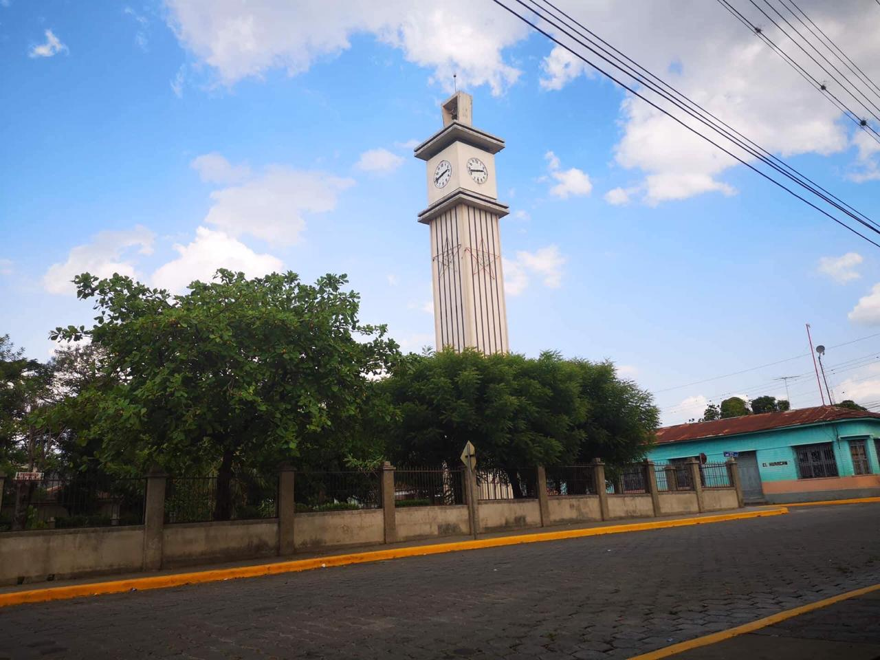 El Reloj de 1967 que se instalo en Nicaragua
