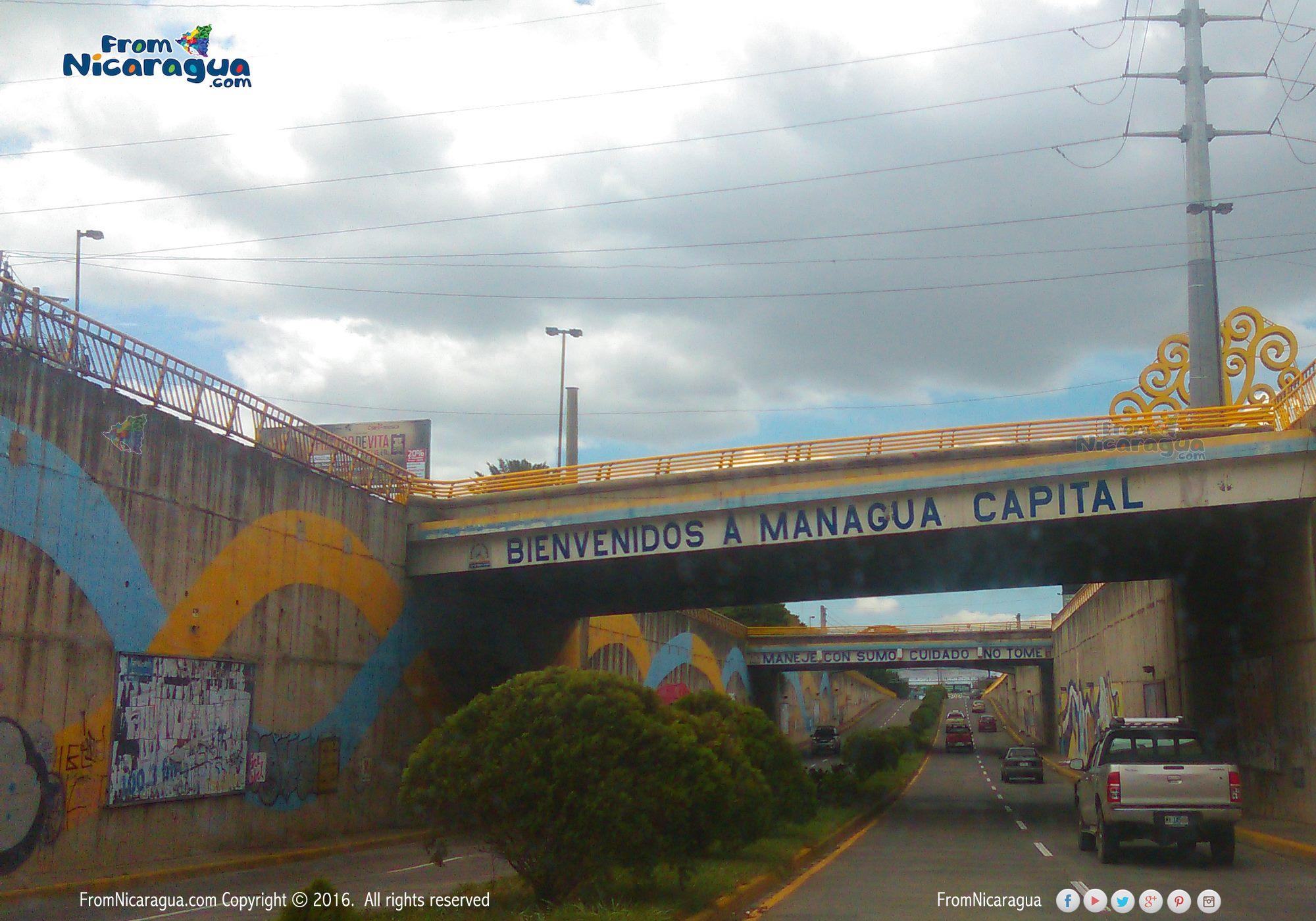 Conocer las principales vías de la ciudad de Managua