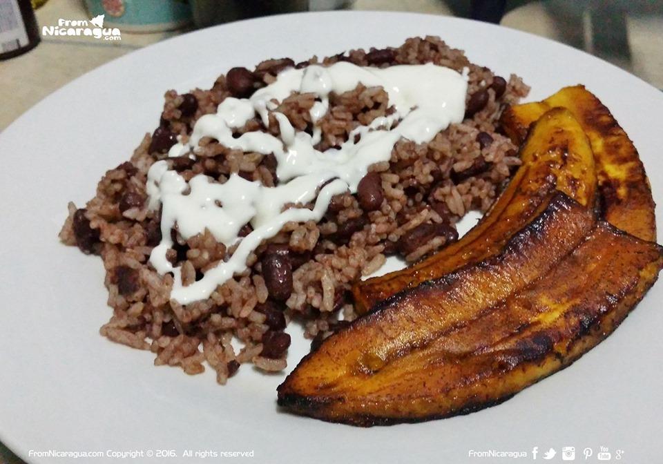 El desayuno tradicional de los nicaragüenses