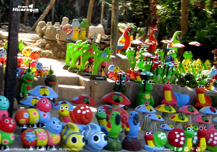 ¿Dónde comprar adornos para jardines en Nicaragua?