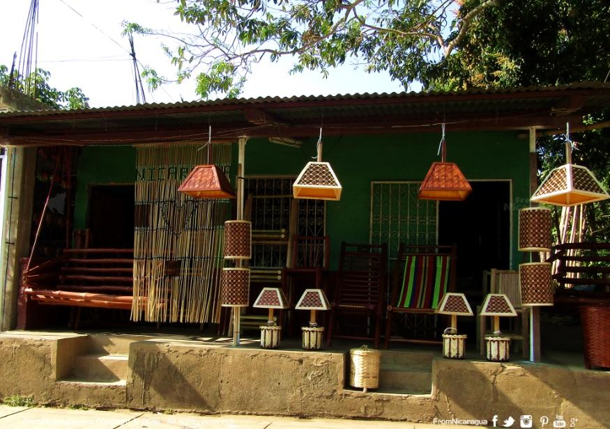 Dónde comprar muebles de bambú en Masaya