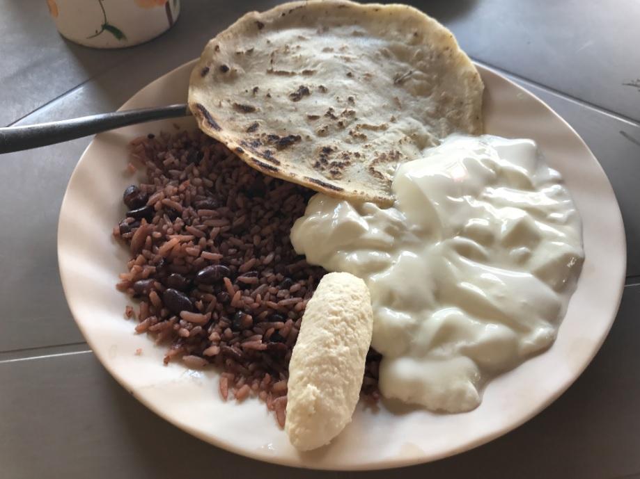 El desayuno más delicioso en Nicaragua