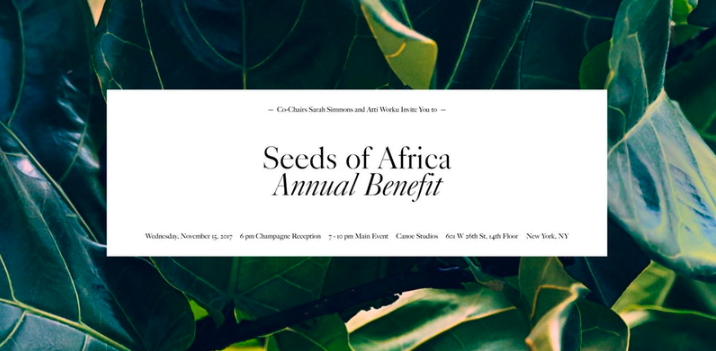 Seeds of Africa Annual Benefit: You're Invited