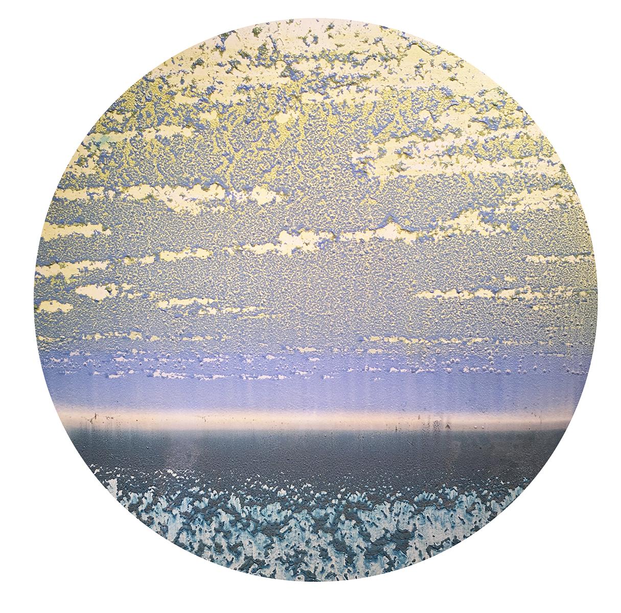 """20"""" Circle: Pastel Sky"""