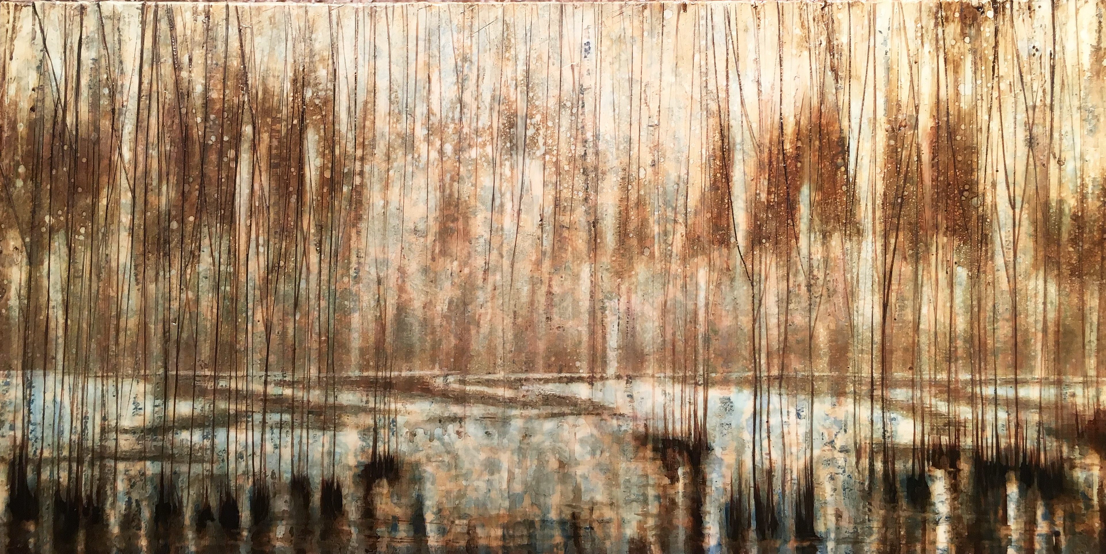 21x42 Autumn Flood