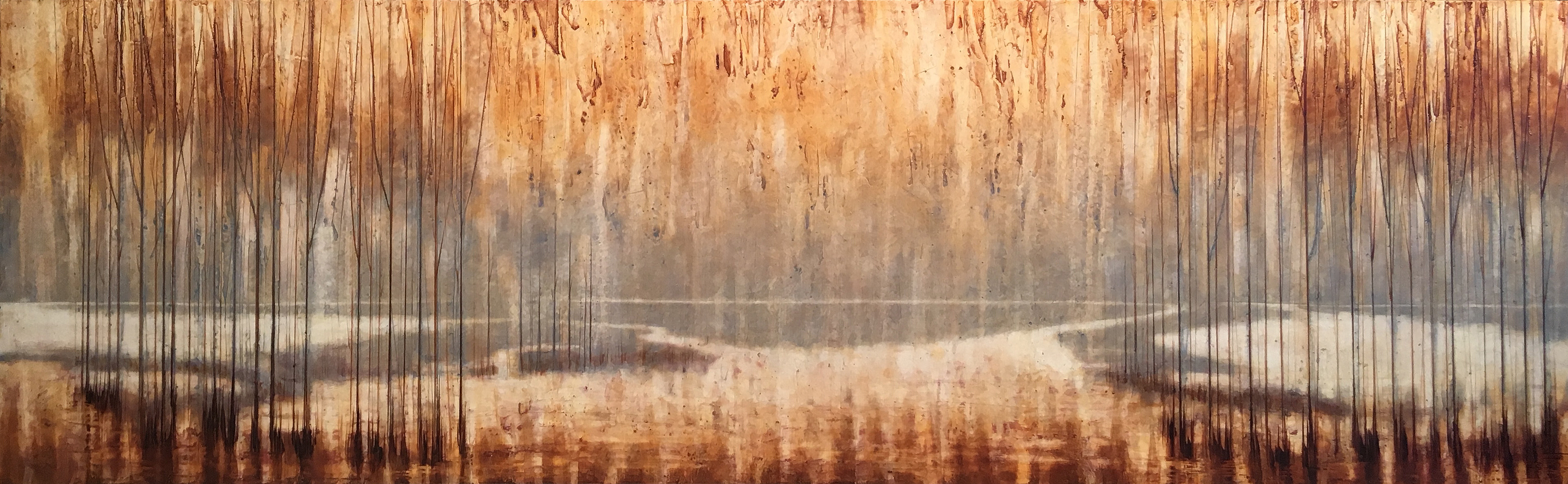 21x68 Autumn Waters