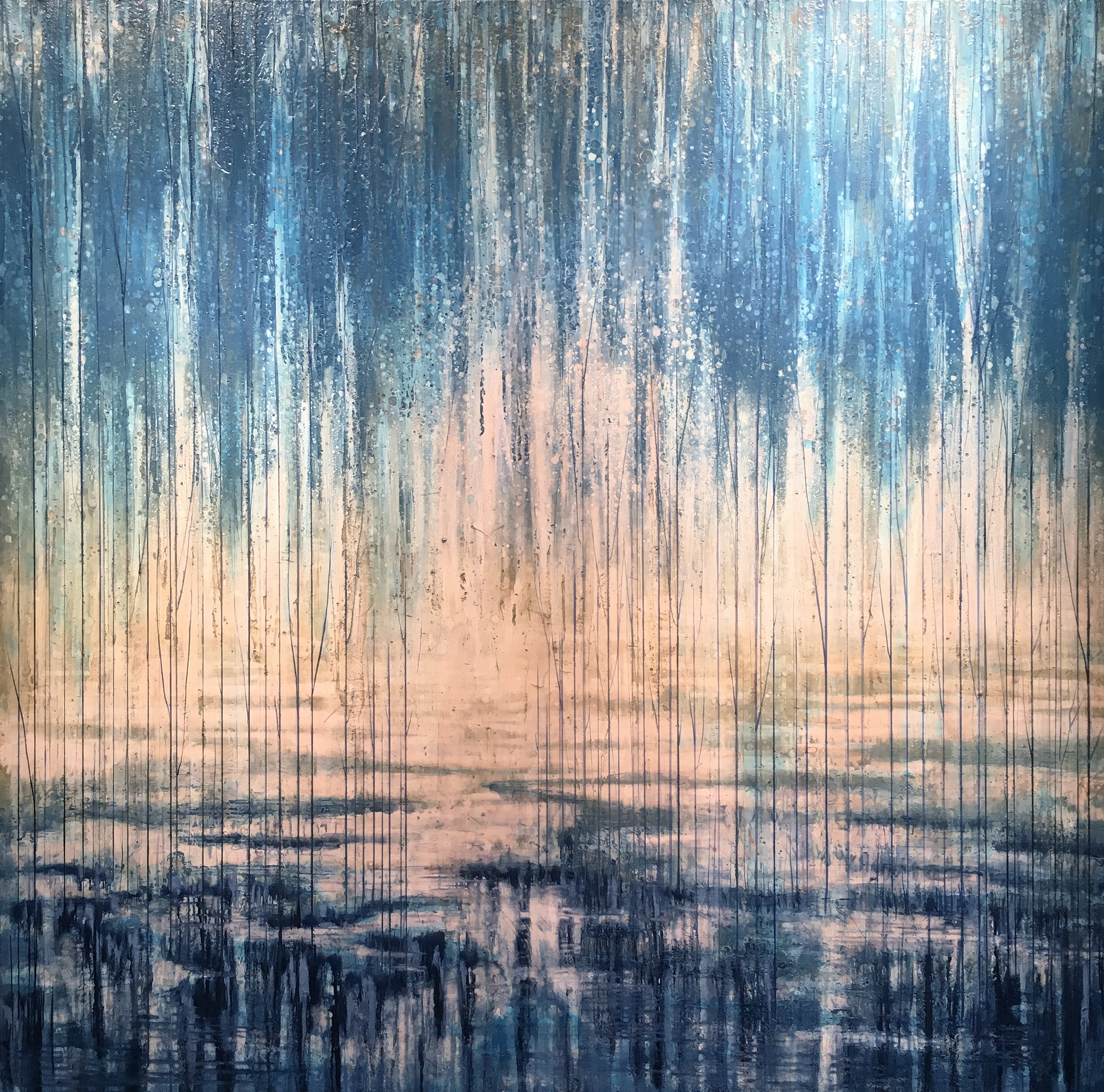 Faded Horizon 60x60
