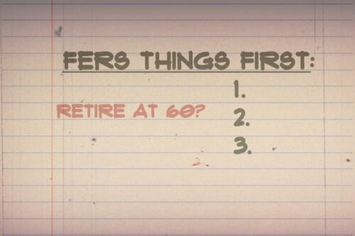 FERS Things First: