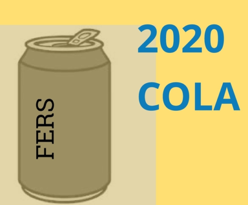 2020 COLA For FERS, CSRS, and Social Security: 1.6%