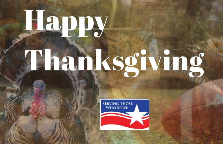 Happy Thanksgiving from Serving Those Who Serve
