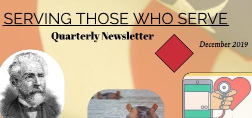 Serving Those Who Serve's Quarterly Newsletter