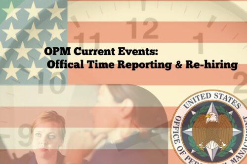 Tracking Official Time & Rehired Feds: OPM's Efforts to Improve the System