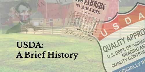"feD-you-""Dairy"": USDA: A Brief History"