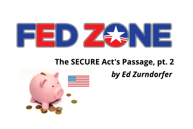 SECURE Act Passage  –Part II