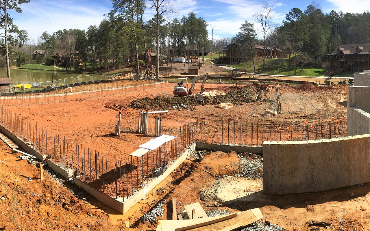 Woodlands Camp Dining Hall Under Construction