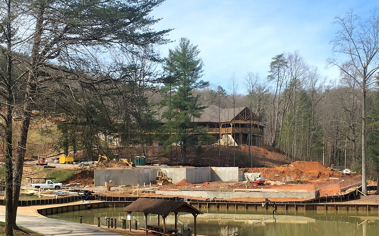 Woodlands Camp Dining Hall Under Construction2