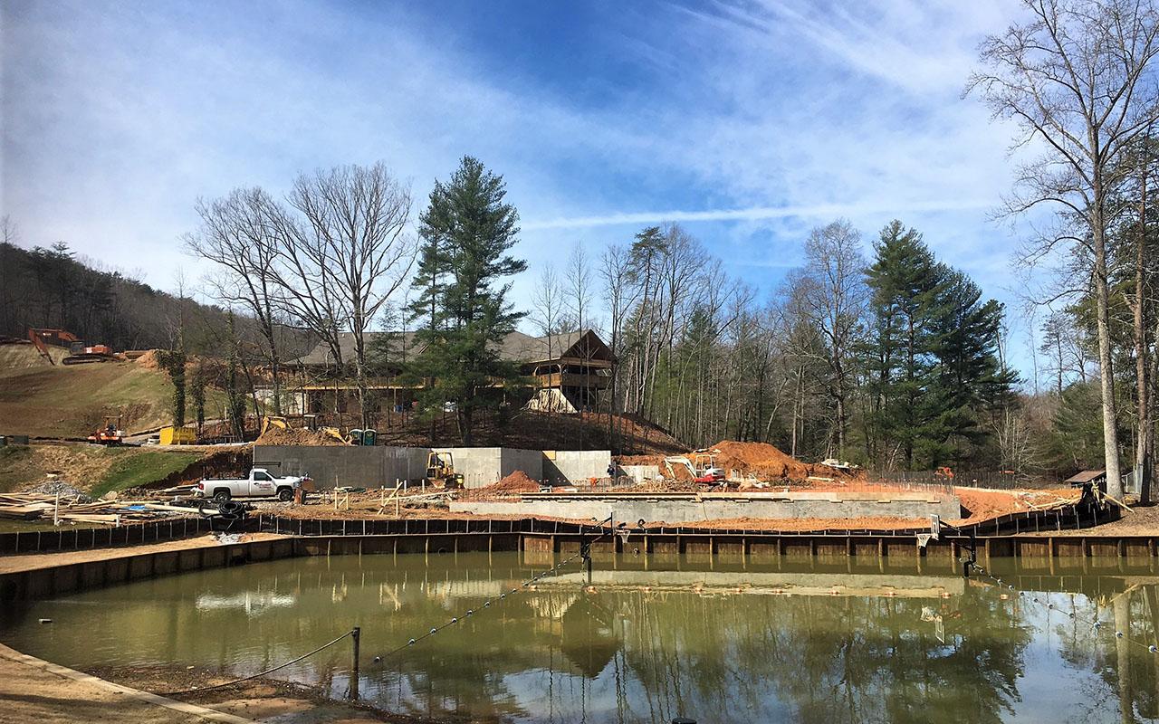 Woodlands Camp Dining Hall Under Construction3