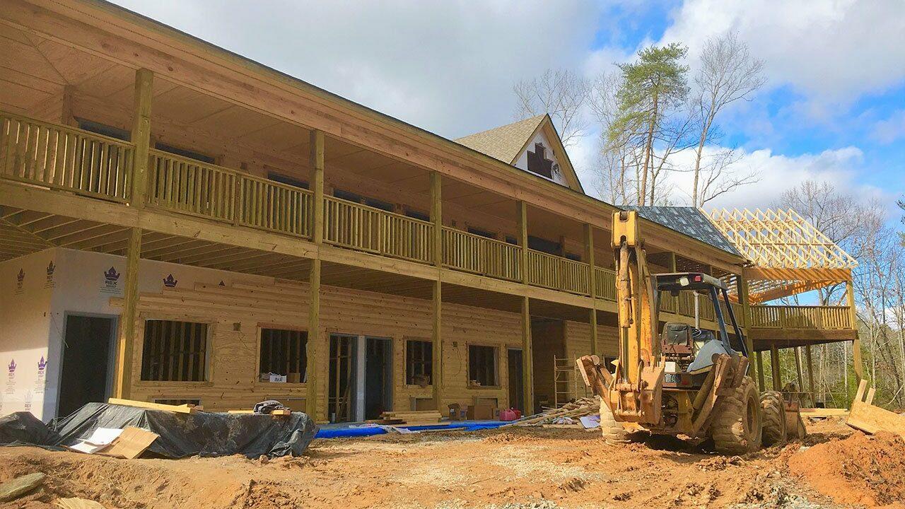 Woodlands Camp Lodge Under Construction 1