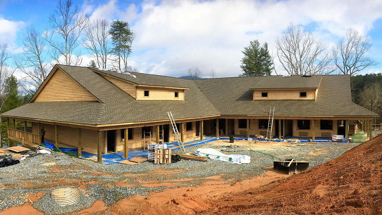 Woodlands Camp Lodge Under Construction 2