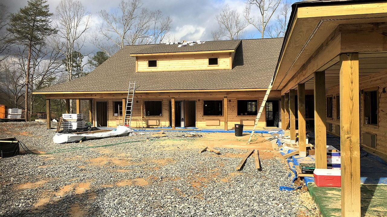 Woodlands Camp Lodge Under Construction 3