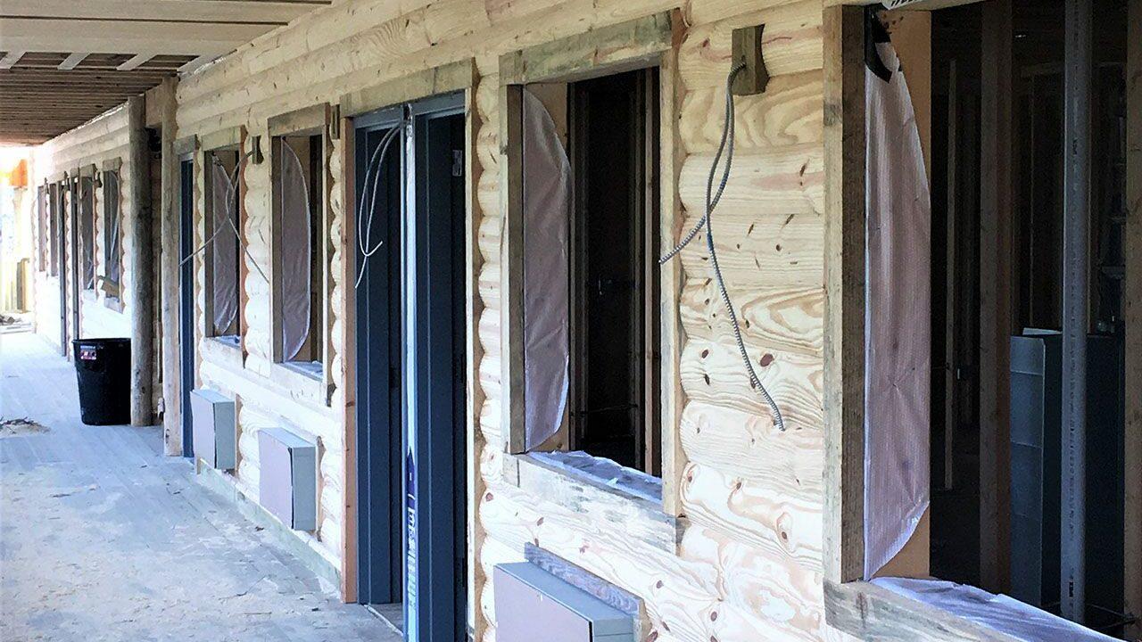 Woodlands Camp Lodge Under Construction 4