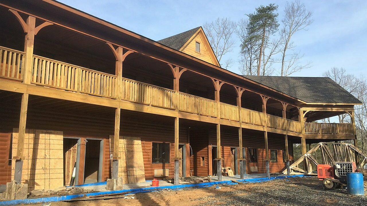 Woodlands Camp Lodge Under Construction 6