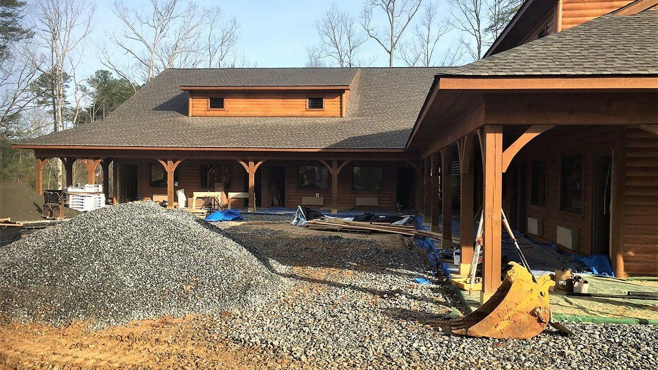 Woodlands Camp Lodge Under Construction 8
