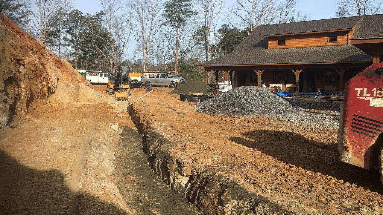 Woodlands Camp Lodge Under Construction 9
