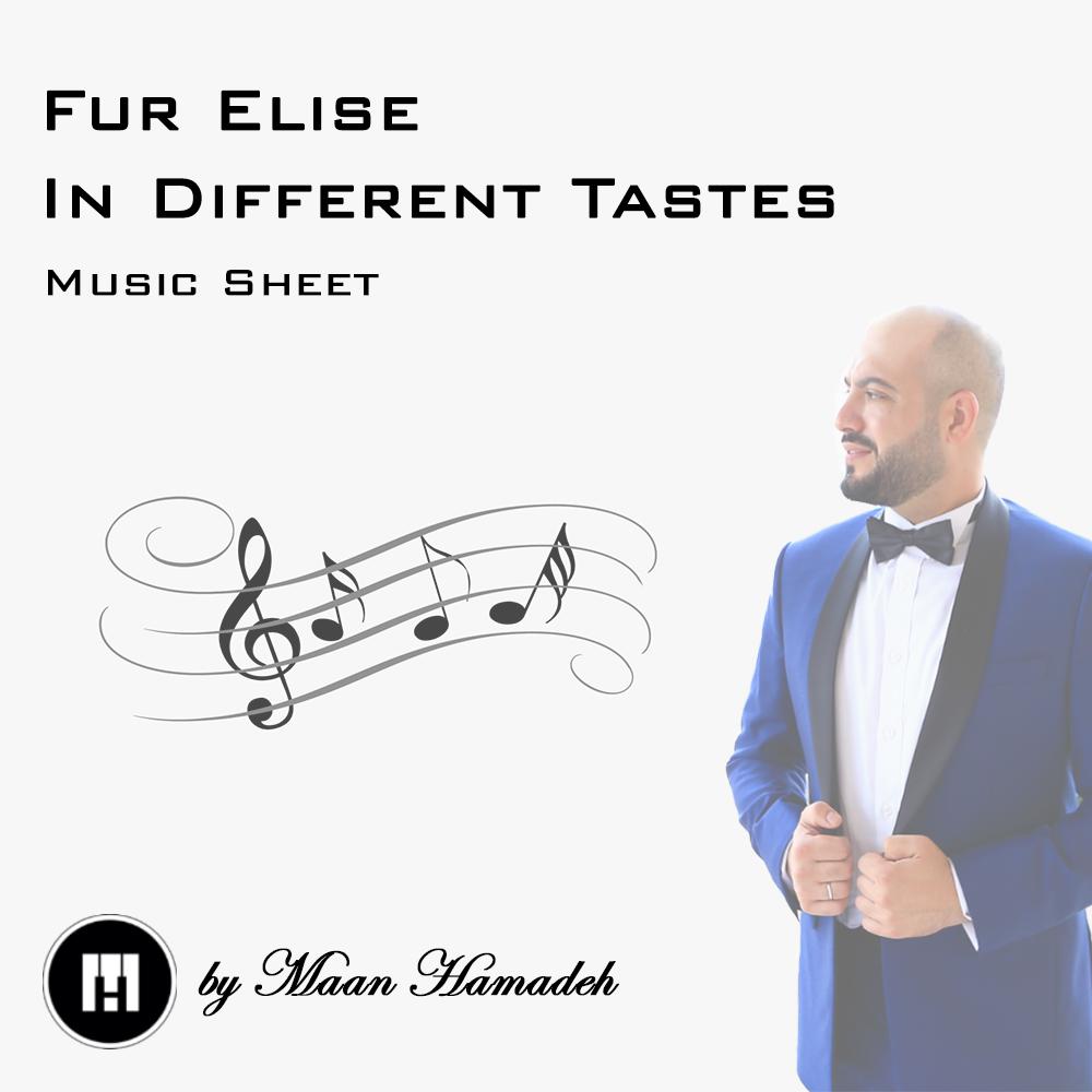 Fur Elise Music Sheet