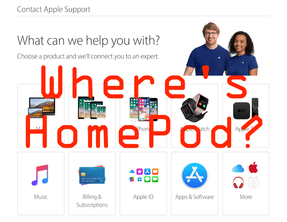 Apple HomePod not Responding call Apple Support
