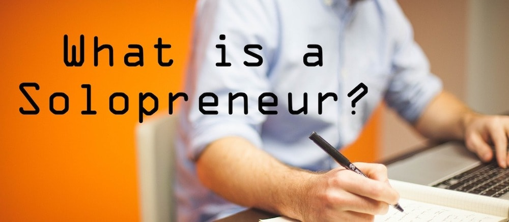 What is a solopreneur?