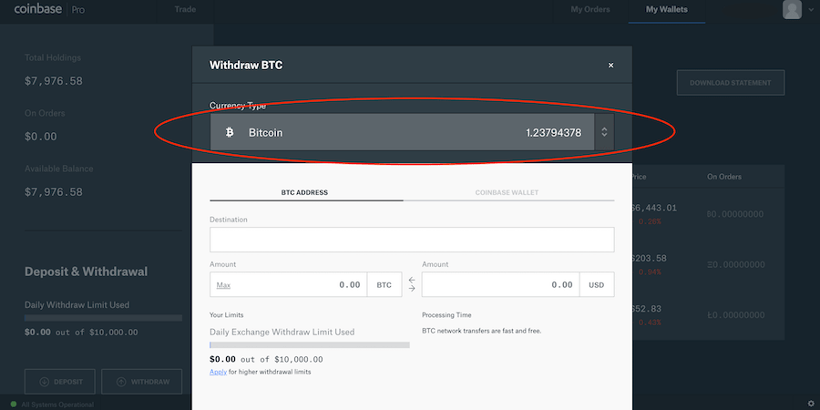 How to Transfer BTC From Coinbase Pro to Coinbase 3-min