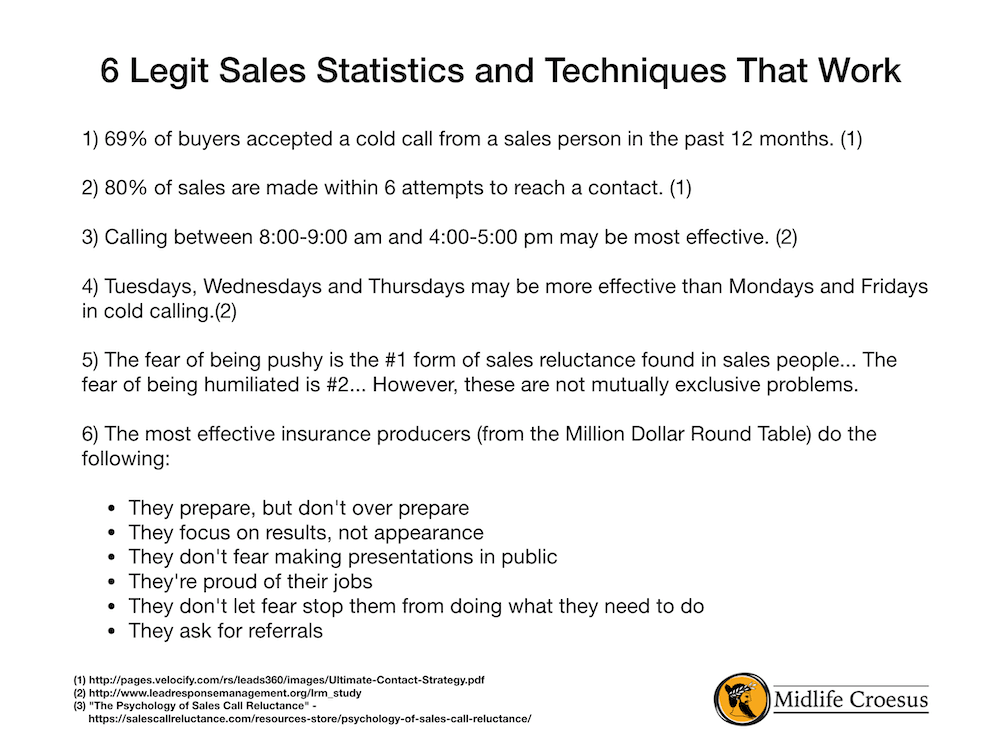 6 Legit Sales Statistics and Techniques That Work