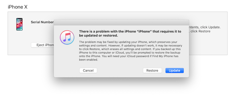 How to restore iPhone when iPhone Doesn't Recognize Passcode
