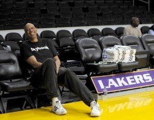 Kareem Coaching Lakers