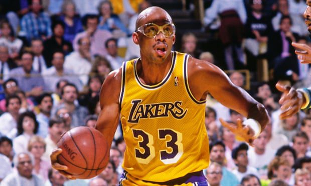 Kareem Abdul-Jabbar won five NBA titles with the Los Angeles Lakers: 'Protecting the lead was often successful on the teams I was a part of'. Photograph: Andrew D Bernstein/NBAE/Getty Images