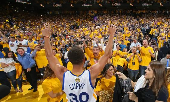 Athletes like Stephen Curry are second only to parents as role models for kids in America. Photograph: Nathaniel S Butler/NBAE/Getty Images