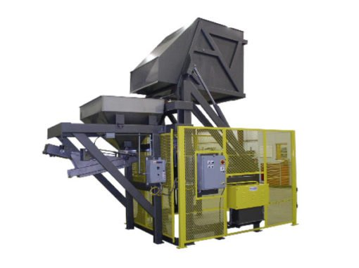 5400-AB Lift & Dump Container Discharger