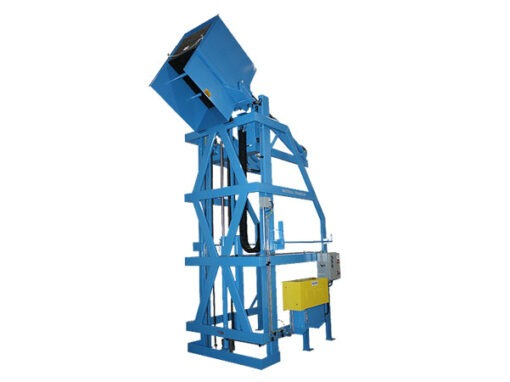 6023-AB Lift & Dump Container Discharger