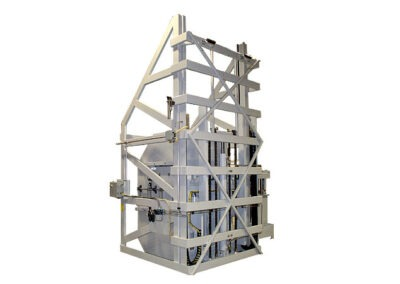 5163-AB Lift & Dump Container Discharger