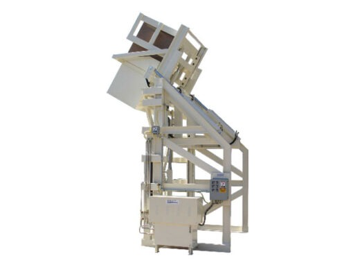 4387-AB Lift & Dump Container Discharger