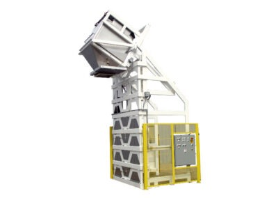 5096-AB Lift & Dump Container Discharger