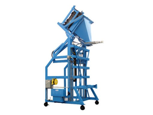 5166-AB Lift & Dump Container Discharger
