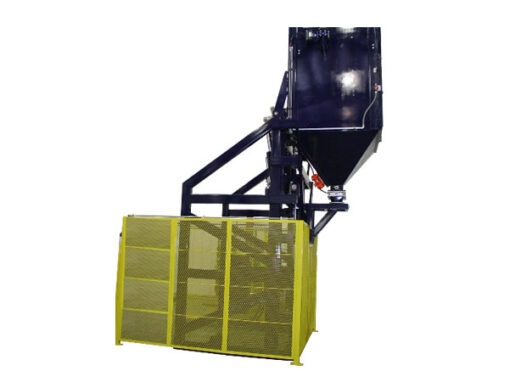 5555-AB Lift & Dump Container Discharger