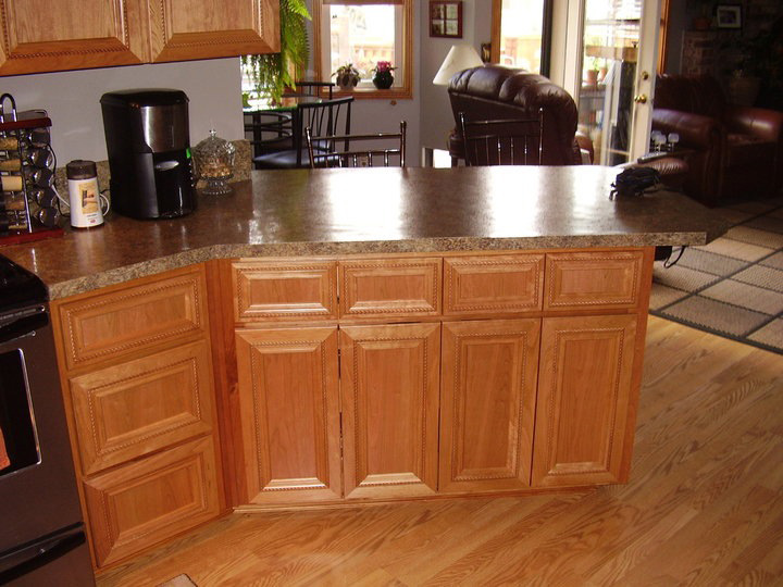 Granite Counters, and Custom Wood Workiing