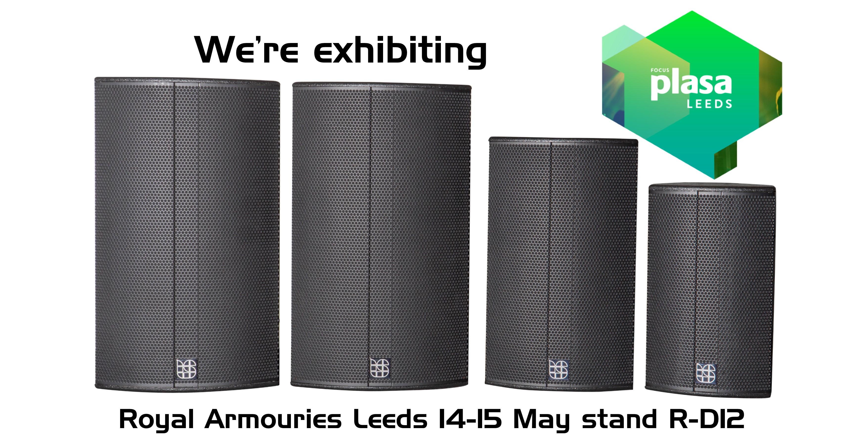 We're exhibiting at PLASA Focus Leeds
