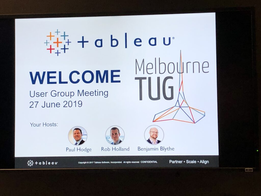 Tableau User Group