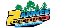 2Annes Lakeside RV Park on Cameron Lake
